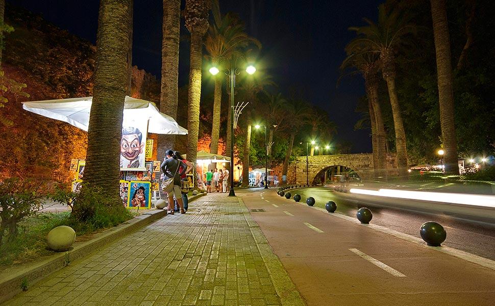 Kos town - Finikon street