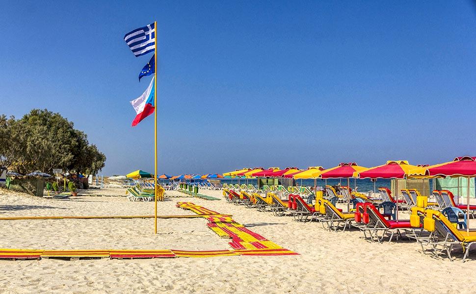 Μαρμάρι οργανωμένη παραλία