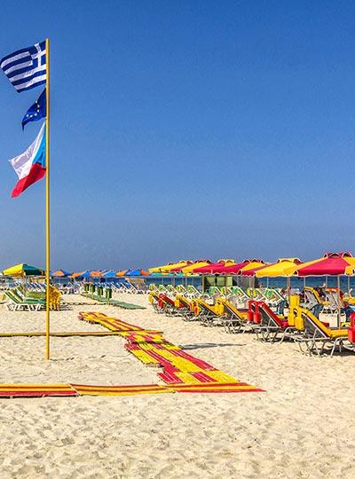 Beach in Marmari