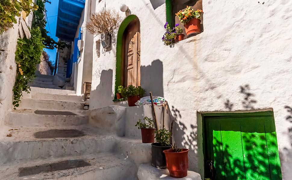 Traditional house in Nisyros