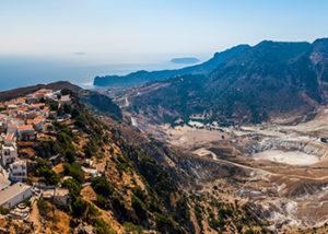 Νίσυρος - Ηφαίστειο - Θέα από Νικιά