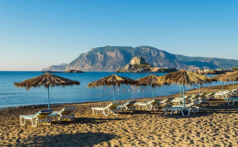 Ag.Stefanos beach in Kefalos - Kos Island