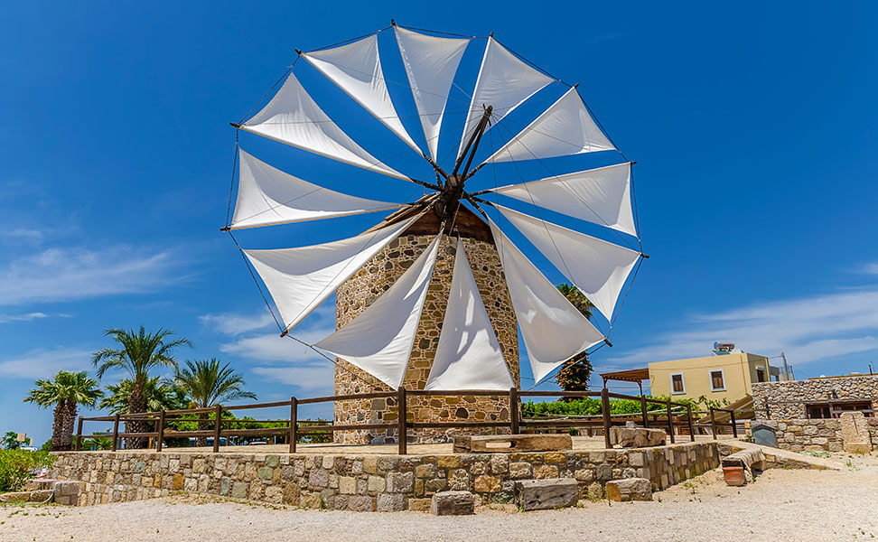 Old Windmill of Antimachia - Kos
