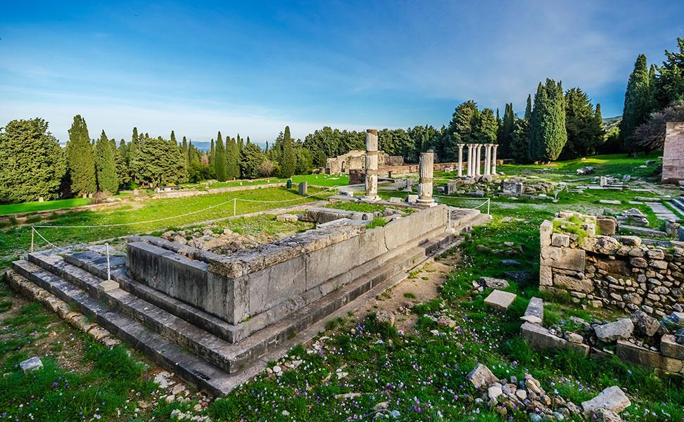 Δωρικός ναός Ασκληπιού- Κως