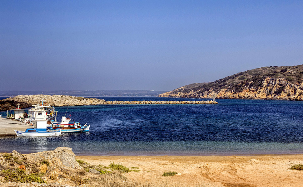Limnionas bay in Kefalos - Kos Island