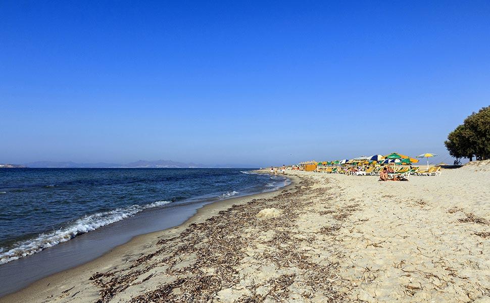 Marmari beach in Kos Island