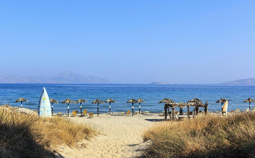 Παραλία στο Μαστιχάρι - Κως