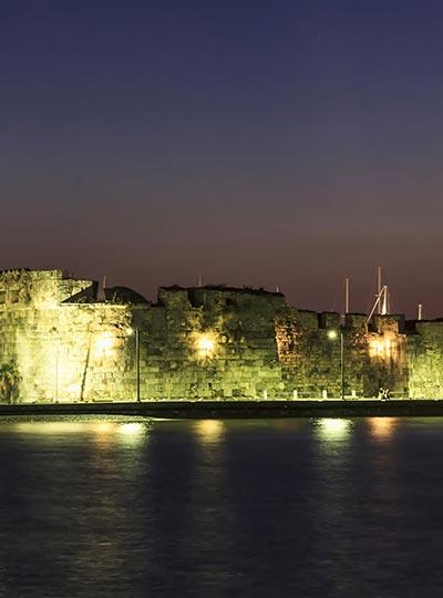 Neratzia castle in Kos Town