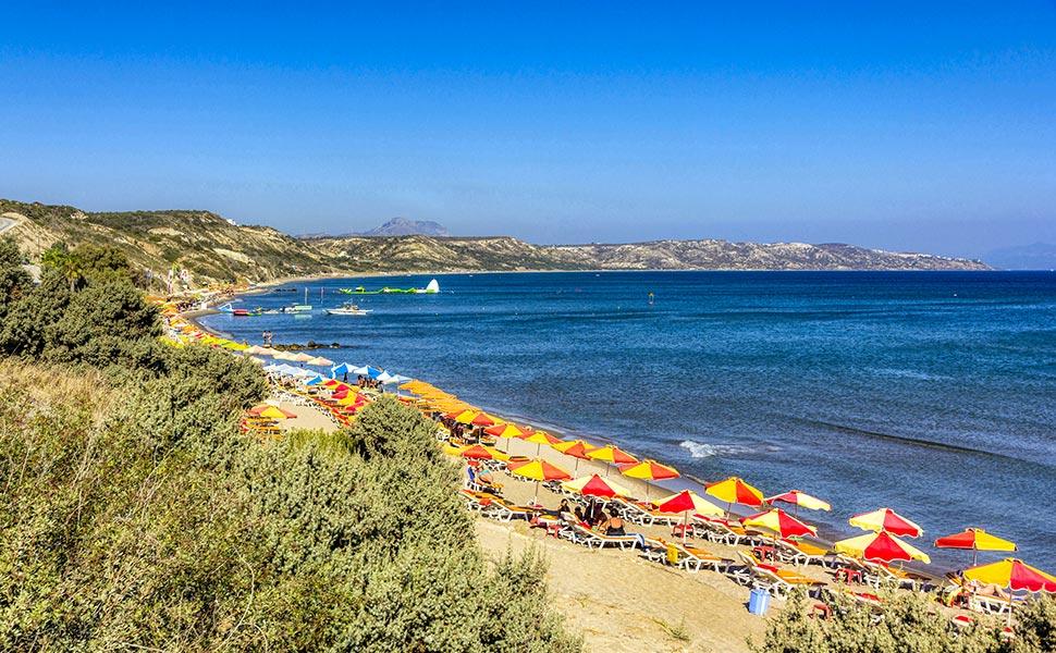 Paradise beach in Kefalos - Kos Island