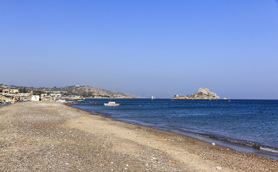 Kamari Beach at Kefalos , Kos Island