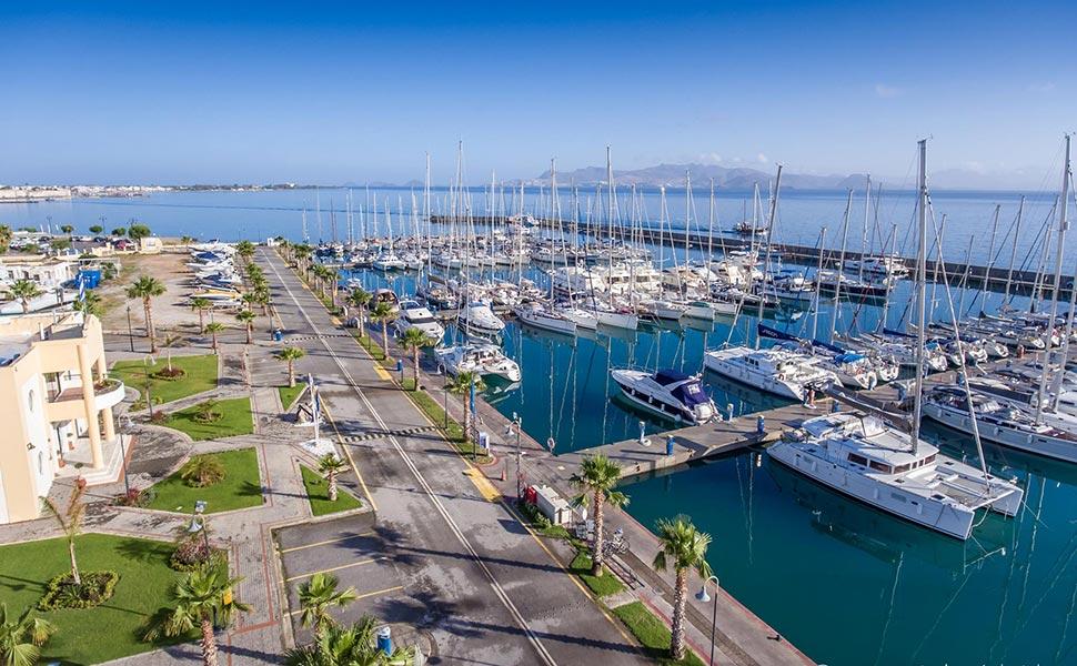 Kos Marina panoramic view