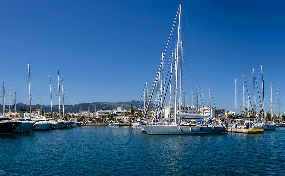 Marina of Kos Island
