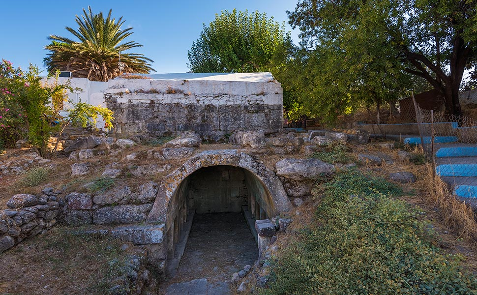 Tomb of Hermylos - Kos- Pyli