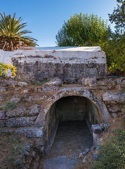 Τάφος του Χαρμύλου - Πυλί - ως