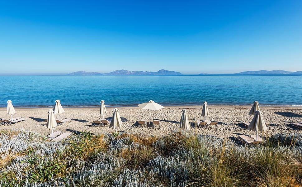 Παραλία στο Μαστιχάρι στο ξενοδοχείο Gaia Royal