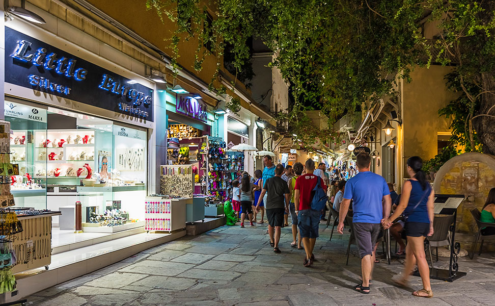 Old town Of Kos by the night