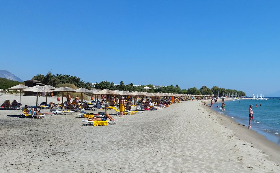 Helona Beach at kardamena Kos