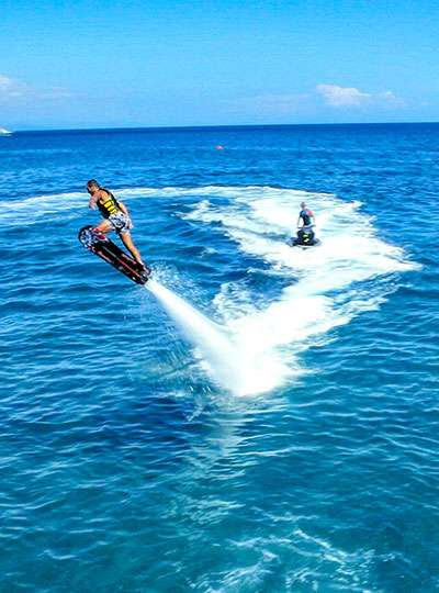 Flyboard - κως θαλάσσια σπορ