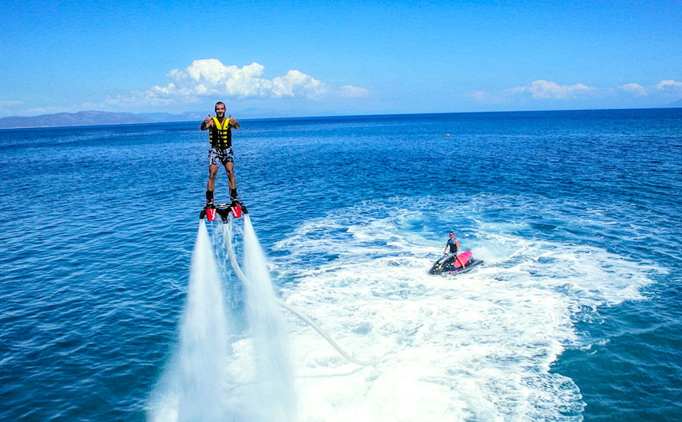 Flyboard extreme sports in Kos