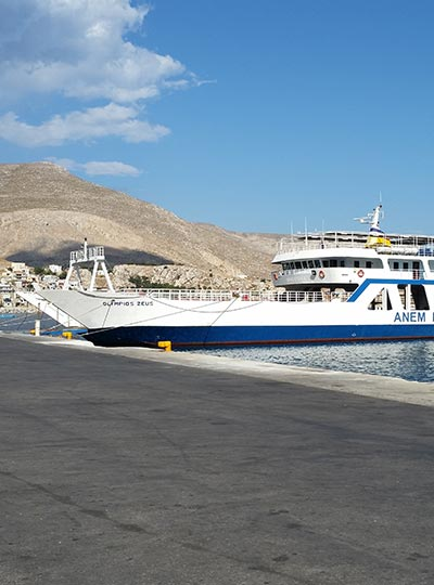 Ferry from Kos to Kalymnos