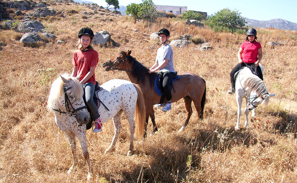 Alfa horse riding in Kos