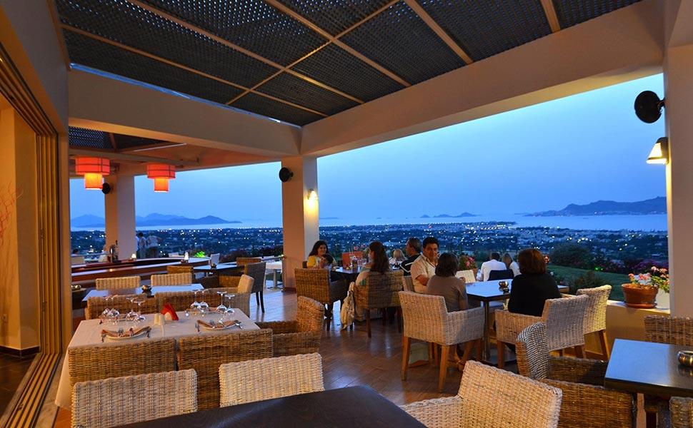 Lofaki Restaurant teracce - nice view