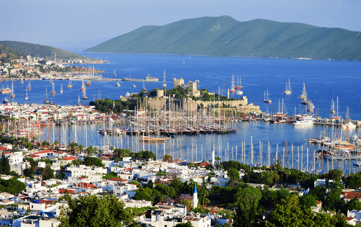 Day trip to Bodrum from Kos.