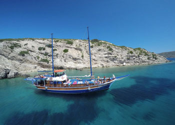 3 Island Cruise - Boat trip from Kos