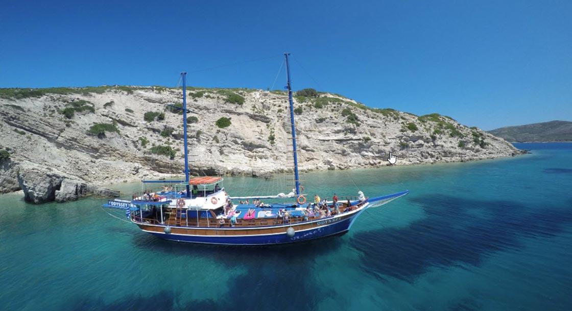 3 Island Cruise – Odyssey Boat