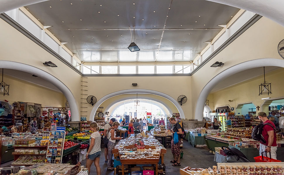 Municipal Market of Kos - Kos Market Hall Interior view