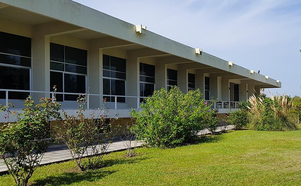 Διεθνές Ιπποκράτειο Ίδρυμα Κω - κτίριο