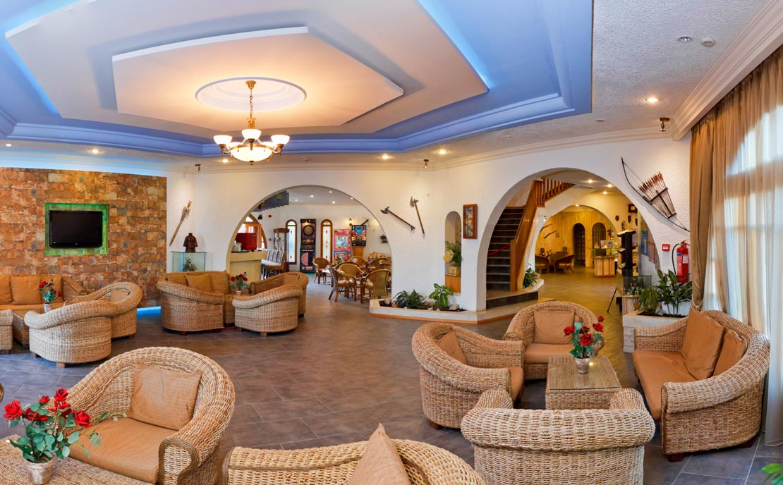 Lobby at Gaia Garden Hotel