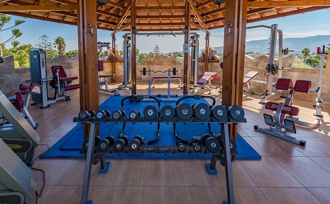 Gym Fitness centre at Gaia Garden Hotel