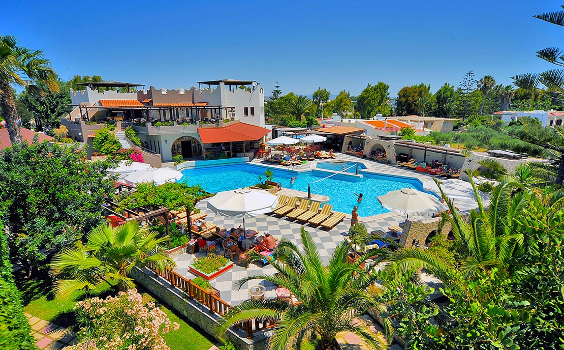 Pool at Gaia Garden Hotel