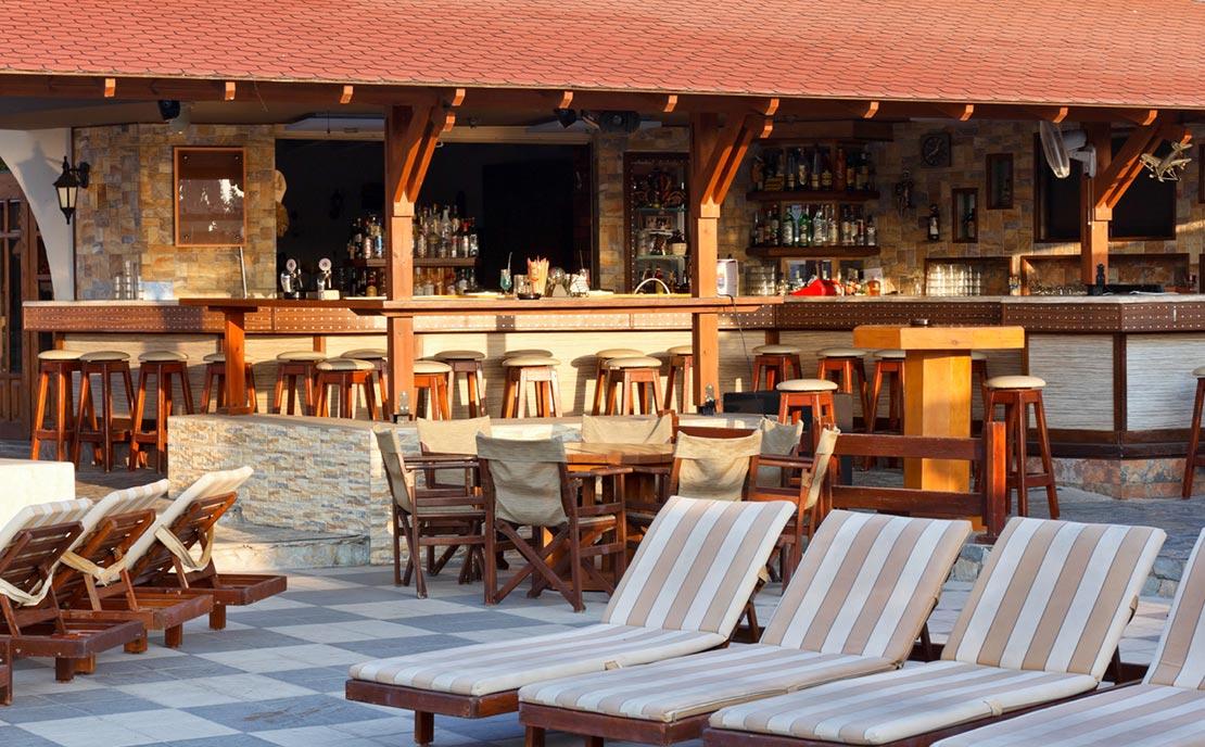 Snack bar of Gaia Garden Hotel