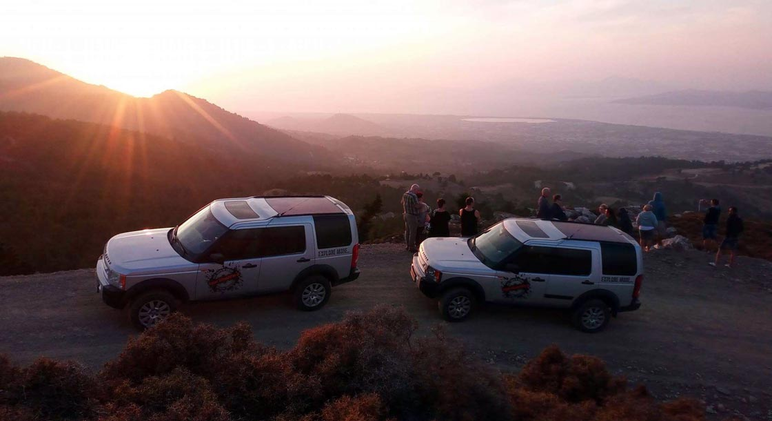 Sunset Jeep Safari Tour in Kos
