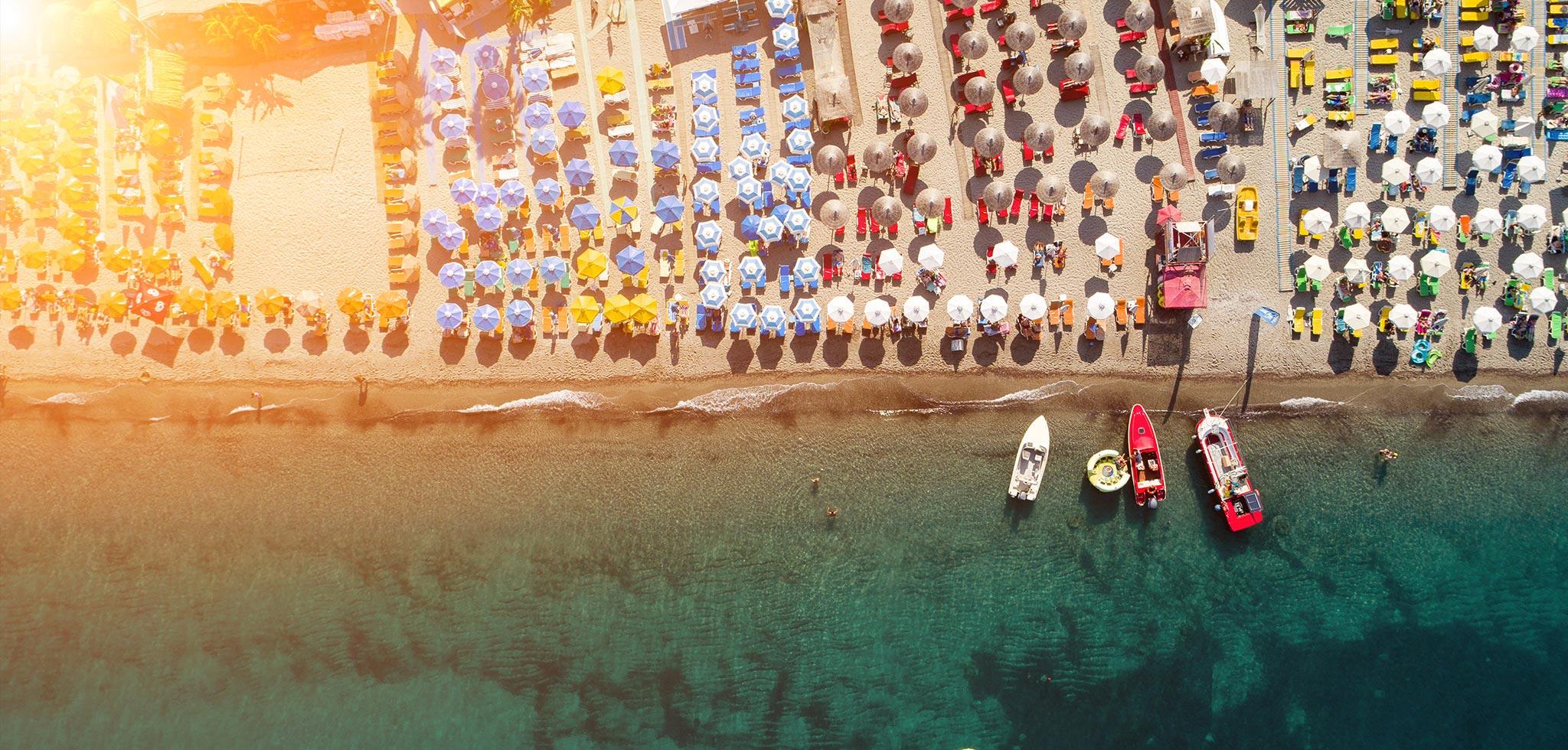Kos, Greece, Sunny beaches